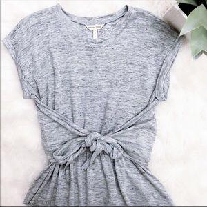 Like New • Rebecca Taylor • Gray Jersey Wrap Dress